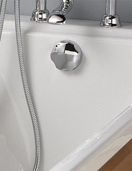 Related Silverdale Universal Bath Pop Up Waste Chrome - UNTACPBTCHR