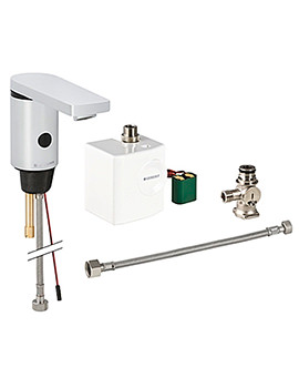 Type 186 Below Desk Mixer Tap With Generator-116.366.21.1