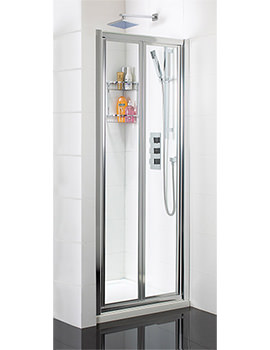 Bifold Shower Door 900mm x 1850mm - SE006