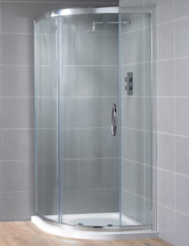 Related Aquadart Venturi 8 Single Door Offset Shower Quadrant 1000 x 800mm