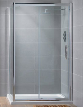 Aquadart Venturi 8 1200mm Sliding Shower Door