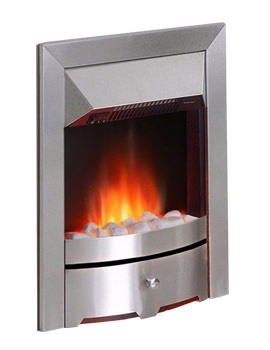 Valor Seattle Electric Fire Chrome - 0580941