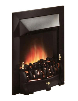 Valor Blenheim Longlite LED Electric Fire Black - 0582451