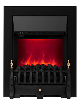 Camberley Manual Control Inset Electric Fire Black 59569