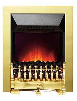 Valor Blenheim Longlite LED Electric Fire Brass - 0582431