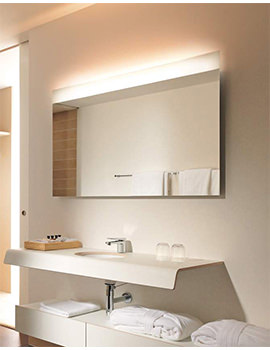 Related Duravit Onto Mirror With Lighting 40 x 1000mm - OT 7280