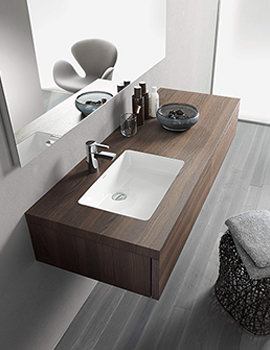 Related Duravit Delos Variable Console For Undercounter Basin - DL050C06969