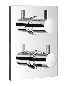 Levo Triple Outlet Diverter Concealed Thermostatic Shower Valve