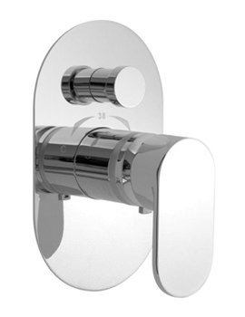 Life Concealed Thermostatic Shower Valve With Diverter
