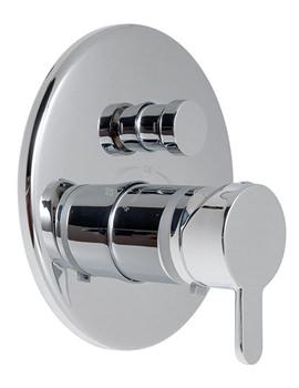 Sense Concealed Thermostatic Shower Valve With Diverter