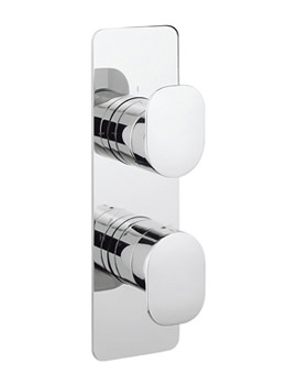 Kelly Hoppen Zero 2 Thermostatic Valve With 3 Way Diverter