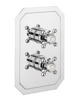 Crosswater Belgravia Crosshead Thermostatic Shower Valve With Diverter