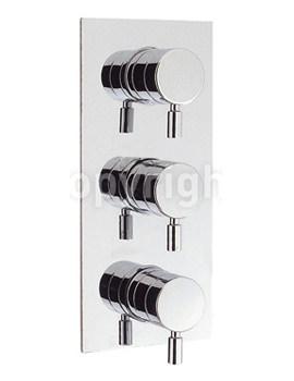 Design Portrait Thermostatic 3 Way Diverter Shower Valve