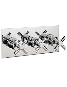Totti Thermostatic Shower Valve 3 Way Diverter Landscape