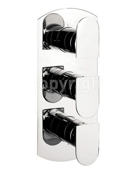 Modest Thermostatic Shower Valve With 3 Way Diverter Portrait