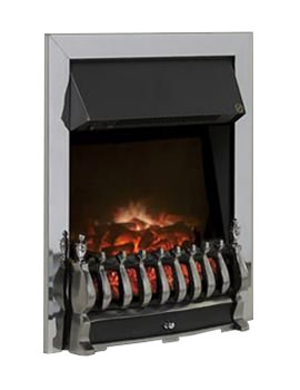 Celsi Ultiflame Traditional Silver Electric Fire