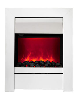 Sensation Manual Control LED Inset Electric Fire Chrome 59404