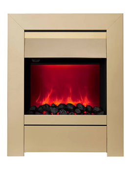 Sensation Manual Control LED Inset Electric Fire Brass 59412