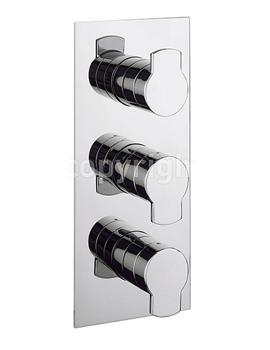 Wisp Thermostatic Shower Valve With 3 Way Diverter - Portrait