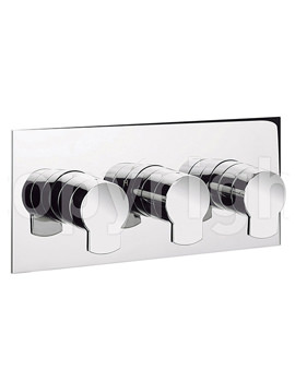 Related Crosswater Wisp Thermostatic Shower Valve With 3 Way Diverter - Landscape