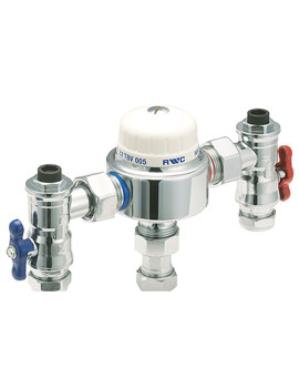 22mm Thermostatic Blending Valve - TBV005