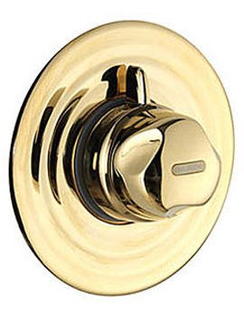 Related Aquavalve 700 Concealed Thermostatic Shower Valve Gold - 700.50.04