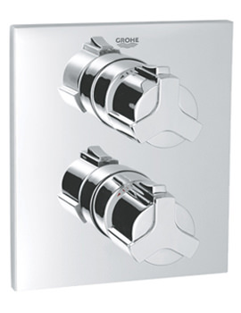 Allure Concealed Thermostatic Shower Mixer Valve - 19380000