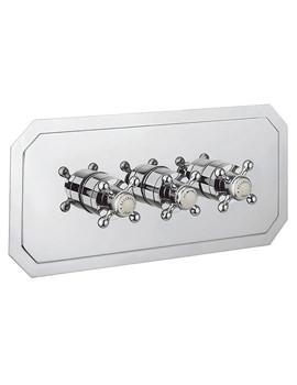 Crosswater Belgravia Crosshead Thermostatic Shower Valve 3 Way Diverter