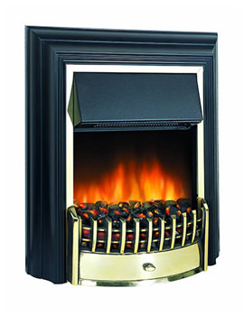 Related Dimplex Cheriton Remote Control LE Electric Fire Black-Brass | CHT20LE