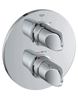 Related Grohe Spa Veris Thermostatic Bath Shower Mixer Valve - 19364000