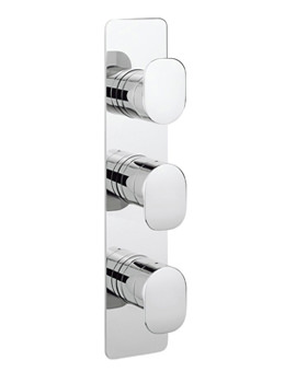 KH Zero 2 Portrait Thermostatic Shower Valve With 3 Way Diverter