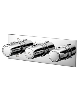 Attitude 3 Control 2 Way Outlet Thermostatic Shower Valve