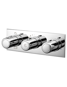 Attitude 3 Control Thermostatic Valve With 3 Way Diverter
