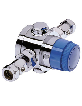 Related Bristan Gummers 22mm Thermostatic Mixing Valve - TS4753ECP