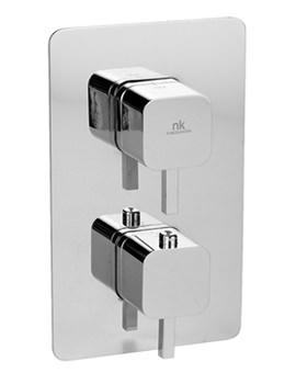 Porcelanosa Noken Neox Concealed Thermostatic 1 Way Shower Valve