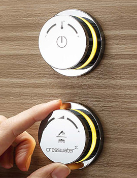 Crosswater Duo Digital Shower Processor And Controls With Remote Control