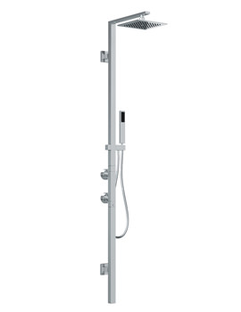 Euphoria Square Thermostatic Shower Post And Handspray - AB2500
