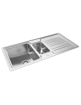 Apex 1.5 Bowl Reversible Kitchen Sink - AW5048