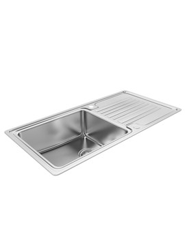 Apex 1.0 Bowl Reversible Kitchen Sink - AW5047
