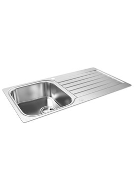 Arka 1.0 Bowl Reversible Kitchen Sink - AW5049