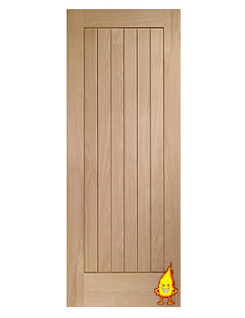 Related XL Internal Suffolk Oak Fire Door - INTOSUF24-FD