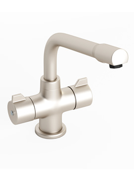 Abode Aspley Brushed Nickel Monobloc Kitchen Tap - AT1008