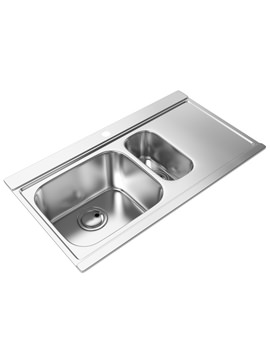 Related Abode Maxim 1.5 Bowl Kitchen Sink - AW5035 - AW5036