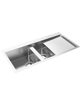 Metrik 1.5 Bowl Kitchen Sink - AW5025 - AW5026