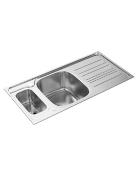 Prizm 1.5 Bowl Reversible Kitchen Sink - AW5044