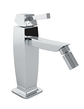 Decadence Single Lever Bidet Mixer Tap With Pop-UP Waste