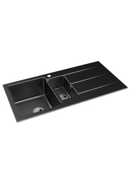 Zero 1.5 Bowl Reversible Kitchen Sink With Drainer - AW3006