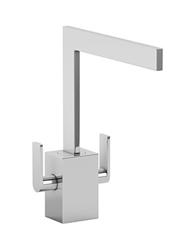 Related Abode Contemporary Edge Monobloc Kitchen Mixer Tap - AT1158