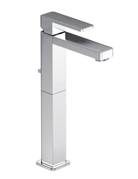 Fervour Tall Basin Single Lever Tap With Pop-up Waste - AB1242