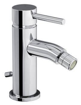 Harmonie Single Lever Bidet Mixer Tap With Pop-Up Waste - AB1190
